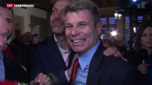 Video «Christoph Ammann verteidigt einen SP-Sitz» abspielen