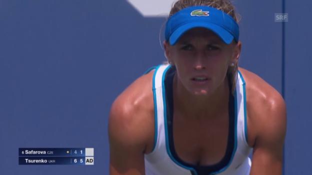 Video «Tennis: US Open, Safarova-Tsurenko» abspielen