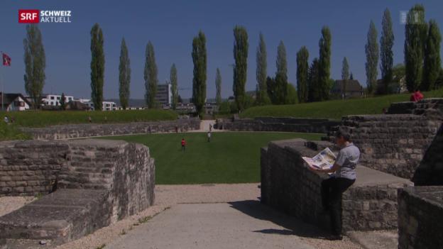 Video «Amphitheater steht zum Verkauf» abspielen