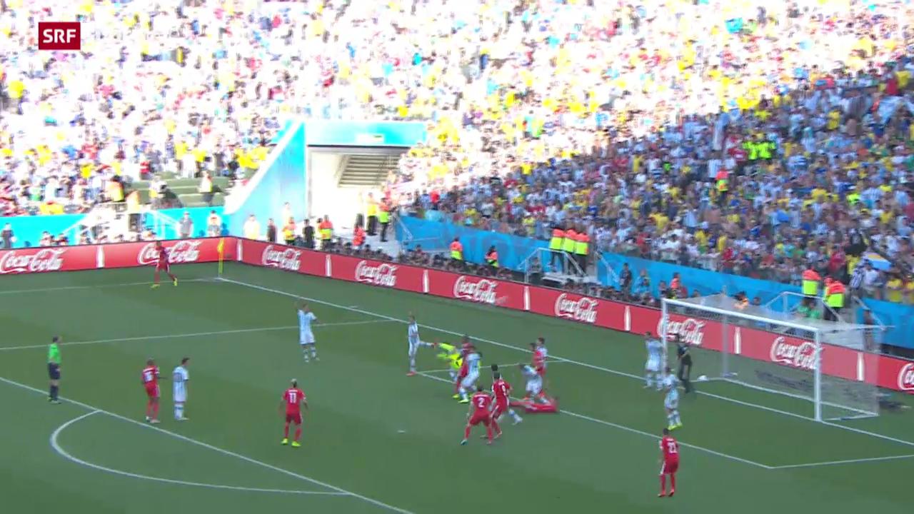 Spielbericht Argentinien - Schweiz