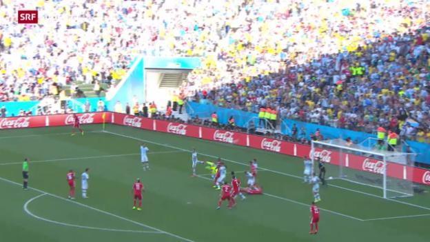 Video «Spielbericht Argentinien - Schweiz» abspielen