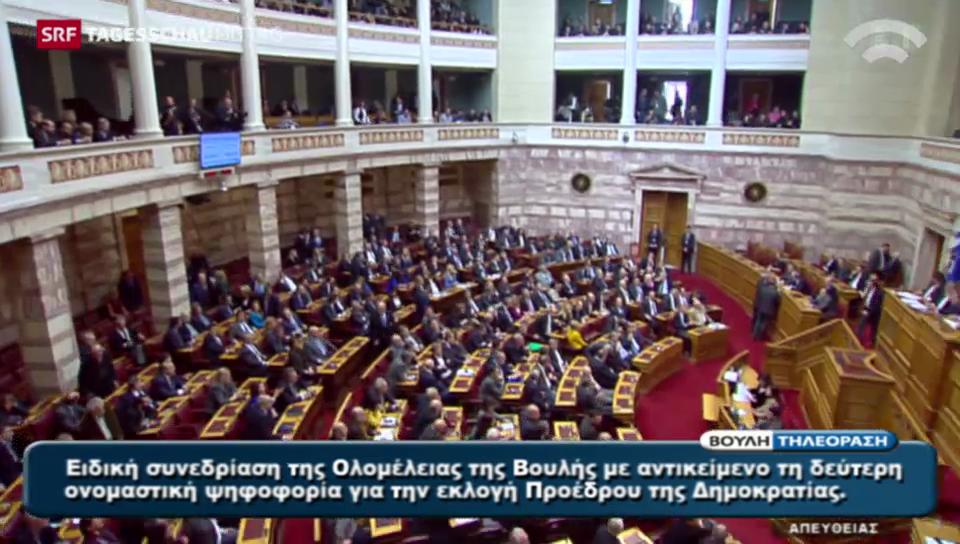Zweiter Wahlgang in Griechenland ebenfalls gescheitert