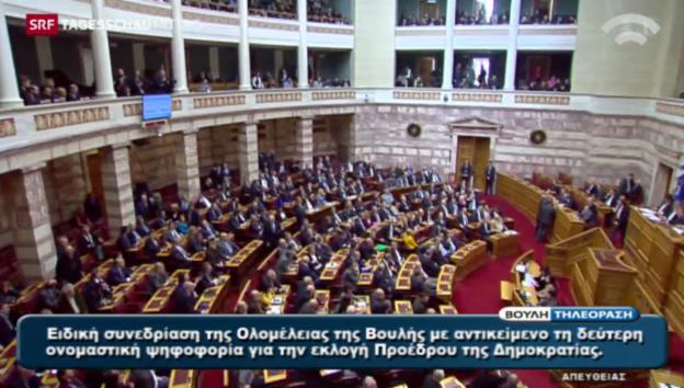 Video «Zweiter Wahlgang in Griechenland ebenfalls gescheitert» abspielen