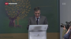 Video «Offizielles Verfahren gegen François Fillon» abspielen