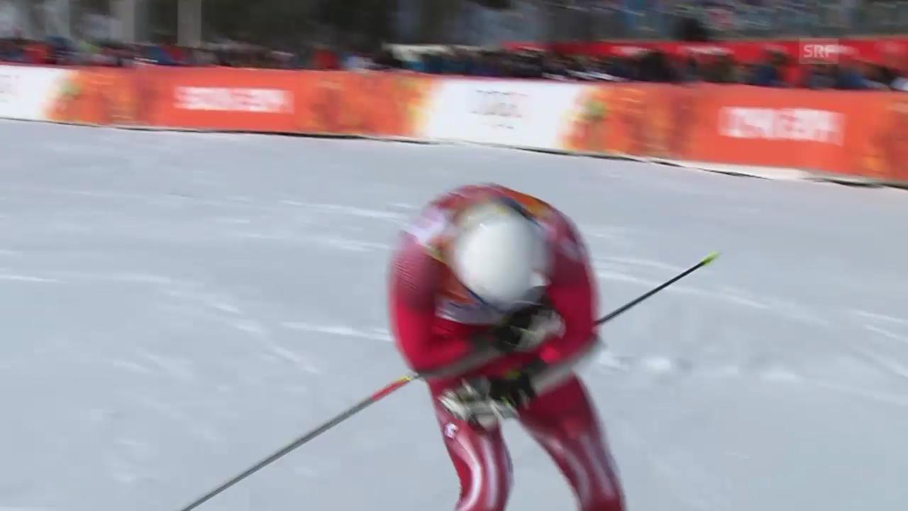 Ski: Riesenslalom Männer Sotschi, 2. Lauf von von Mauro Caviezel (sotschi direkt, 19.2.14)