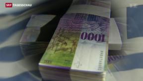 Video «Griechenland will Geld auf Schweizer Konten eintreiben» abspielen