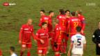 Video «Cup-Achtelfinal Wohlen - Thun» abspielen