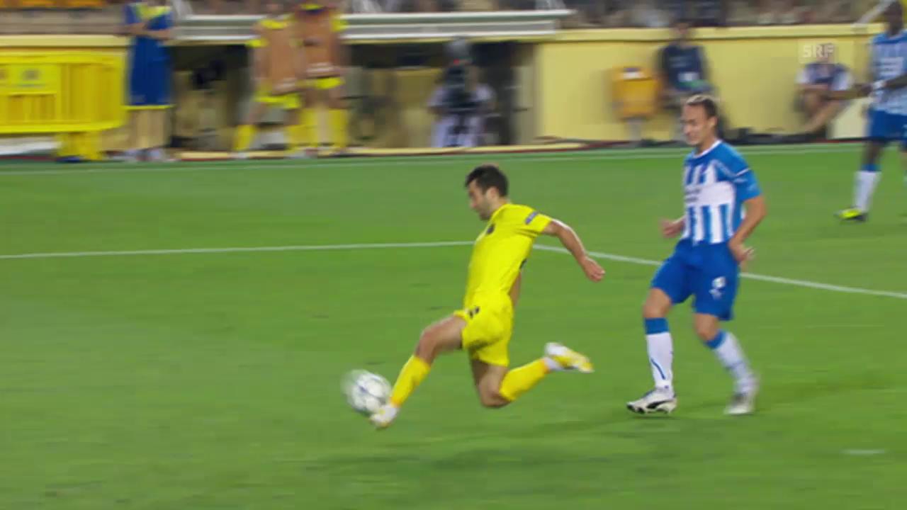 Fussball: CL-Qualifikation 2011, Tor Rossi gegen Odense