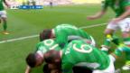 Video «Toller Dropkick von Irlands Hoolahan» abspielen