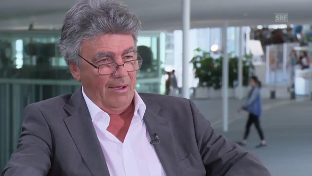 Patrick Aebischer, Präsident ETH Lausanne