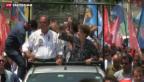 Video «Kopf-an-Kopf-Wahlkampf in Brasilien» abspielen