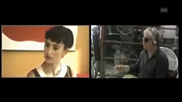 Video «Hinter den Kulissen von «Los abrazos rotos»» abspielen