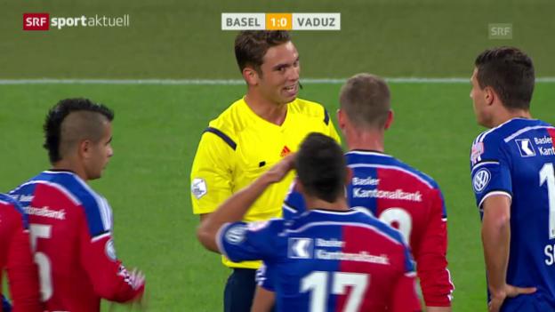 Video «Fussball: Super League, Basel - Vaduz» abspielen