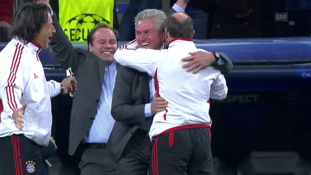 Vor 6 Jahren: Heynckes' Bayern schlagen Real