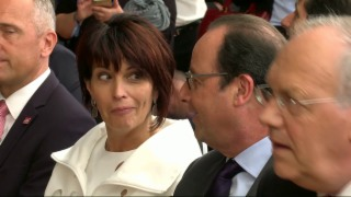 Video «Merkel, Hollande, Renzi: Internationale Prominenz am Gotthard» abspielen