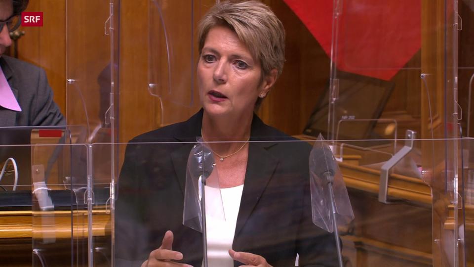Bundesrätin Karin Keller-Sutter: «Vorschnelle Entscheide und spontane Ankündigungen sind nicht zielführend»