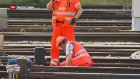 Video « Bahnhof Winterthur bleibt gesperrt» abspielen