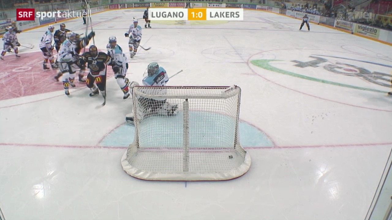 Eishockey: Lugano - Lakers