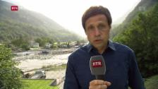 Laschar ir video «Telesguard LIVE: La situaziun actuala a Bondo»