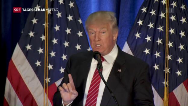 Video «Trump: Ja zur Nato, Nein zu Merkel» abspielen