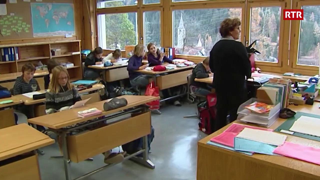 Il rumantsch suenter la fusiun da las scolas (TSG 18.11.2008)