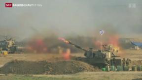 Video «Feuerpause im Gazastreifen gebrochen» abspielen