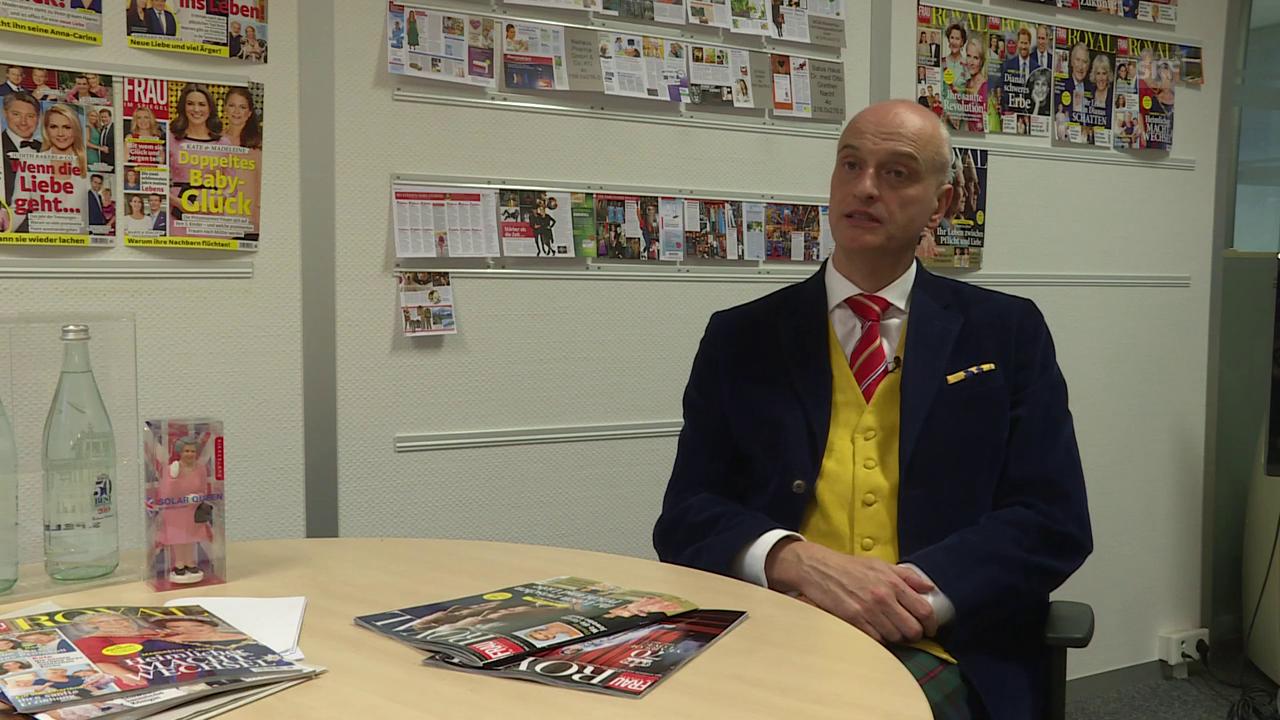 Royalexperte Andy Englert über den 70. Hochzeitstag der Queen