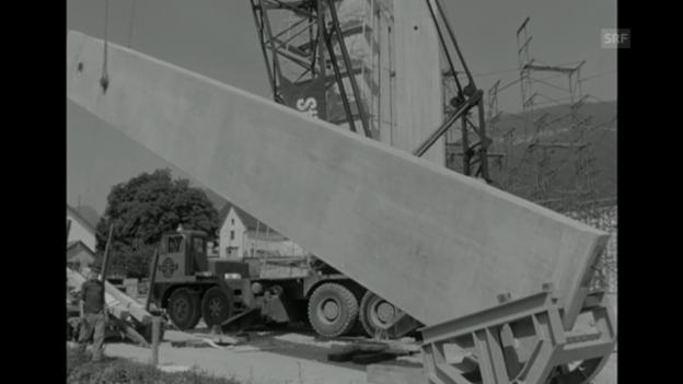 Video ««Bau katholische Kirche» aus Antenne, 17.8.1967» abspielen