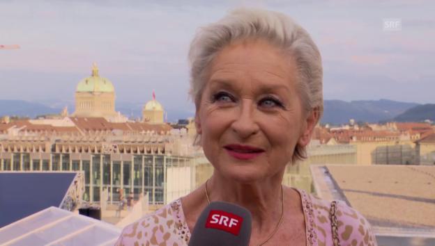 Video «Warum Heidi Maria Glössner mit mehr Frauen befreundet ist» abspielen