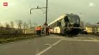 Video «Kollision am Bahnübergang» abspielen