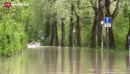 Video «Grosse Gefahr entlang der Aare» abspielen