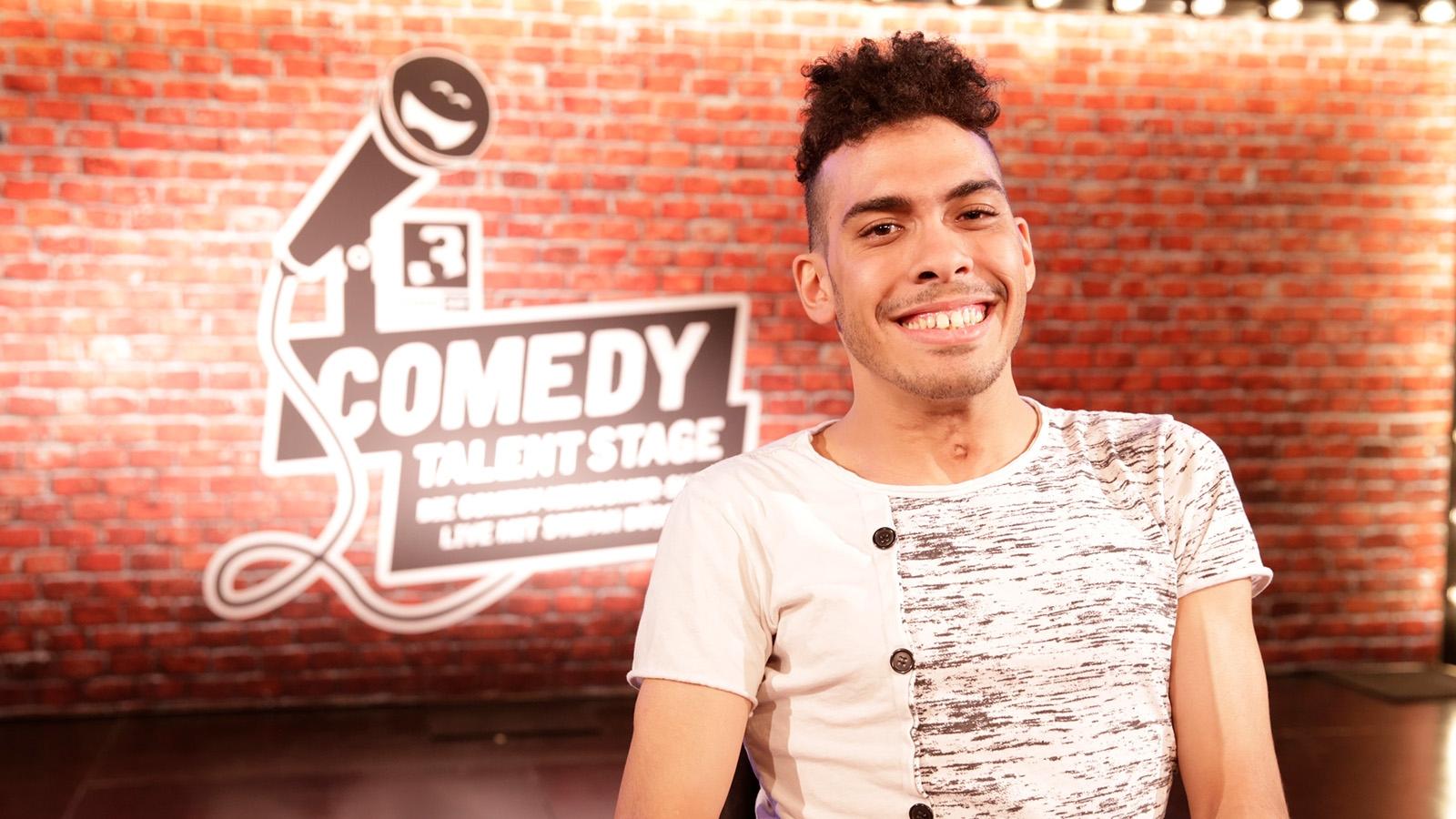 Eddie Ramirez auf der SRF 3 «Comedy Talent Stage»