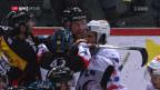 Video «Packendes Playoff-Duell zwischen Bern und ZSC» abspielen
