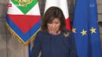 Video «Doch keine Regierung in Italien» abspielen