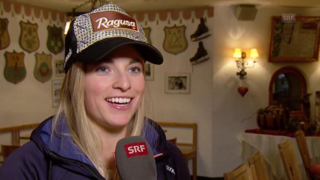 Video «Ski: Interview Lara Gut» abspielen