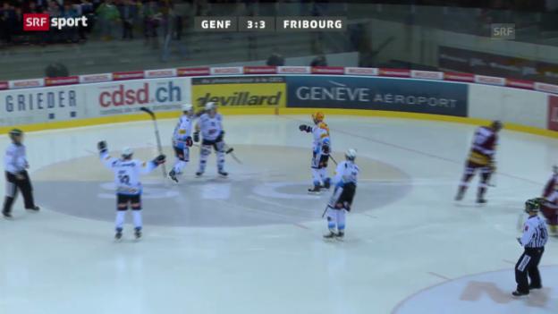 Video «NLA: Genf - Freiburg» abspielen