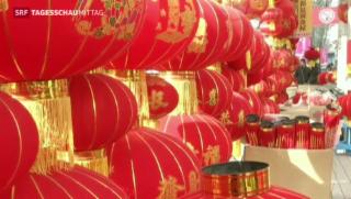 Video «Neujahrsfeier in China» abspielen