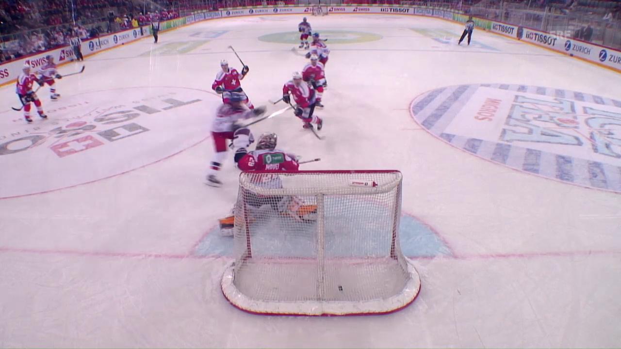 Die Schweiz unterliegt Tschechien unglücklich mit 1:2