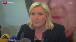 Video «FOKUS: Le Pen will Präsidentschaftsamt» abspielen