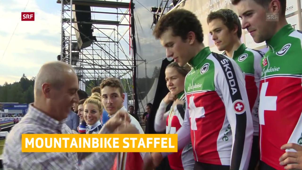 Schweizer Staffel holt Bronze