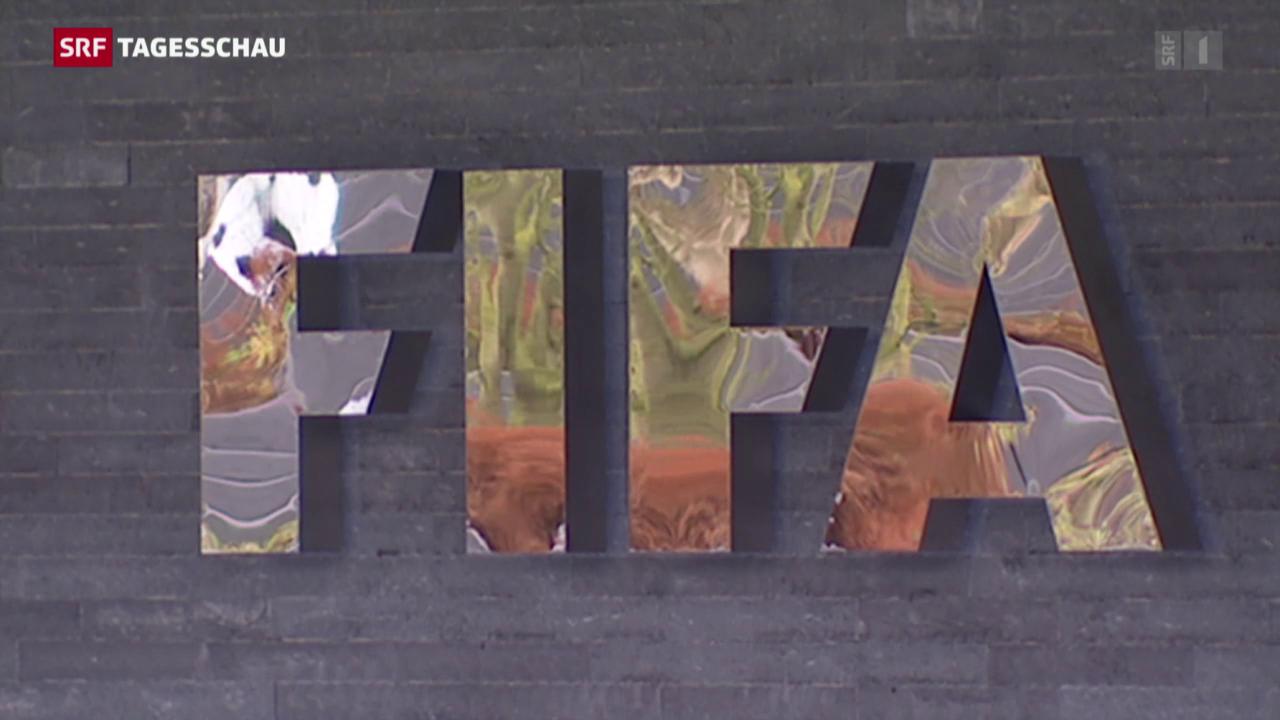 Anhörung im Fall Blatter