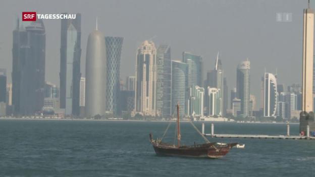 Video «Diplomatische Krise am Persischen Golf» abspielen