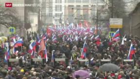 Video «Neue Hinweise zum Mord an Putin-Kritiker Nemzow  » abspielen