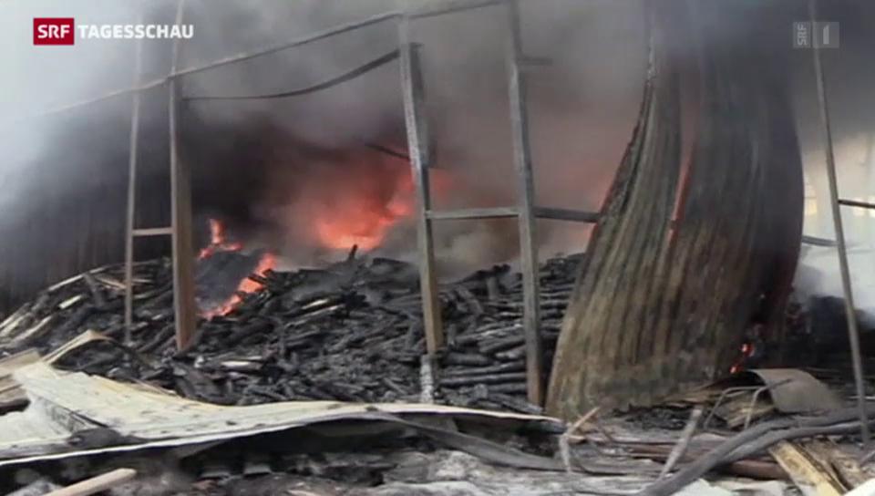 Gefechte in der Ukraine