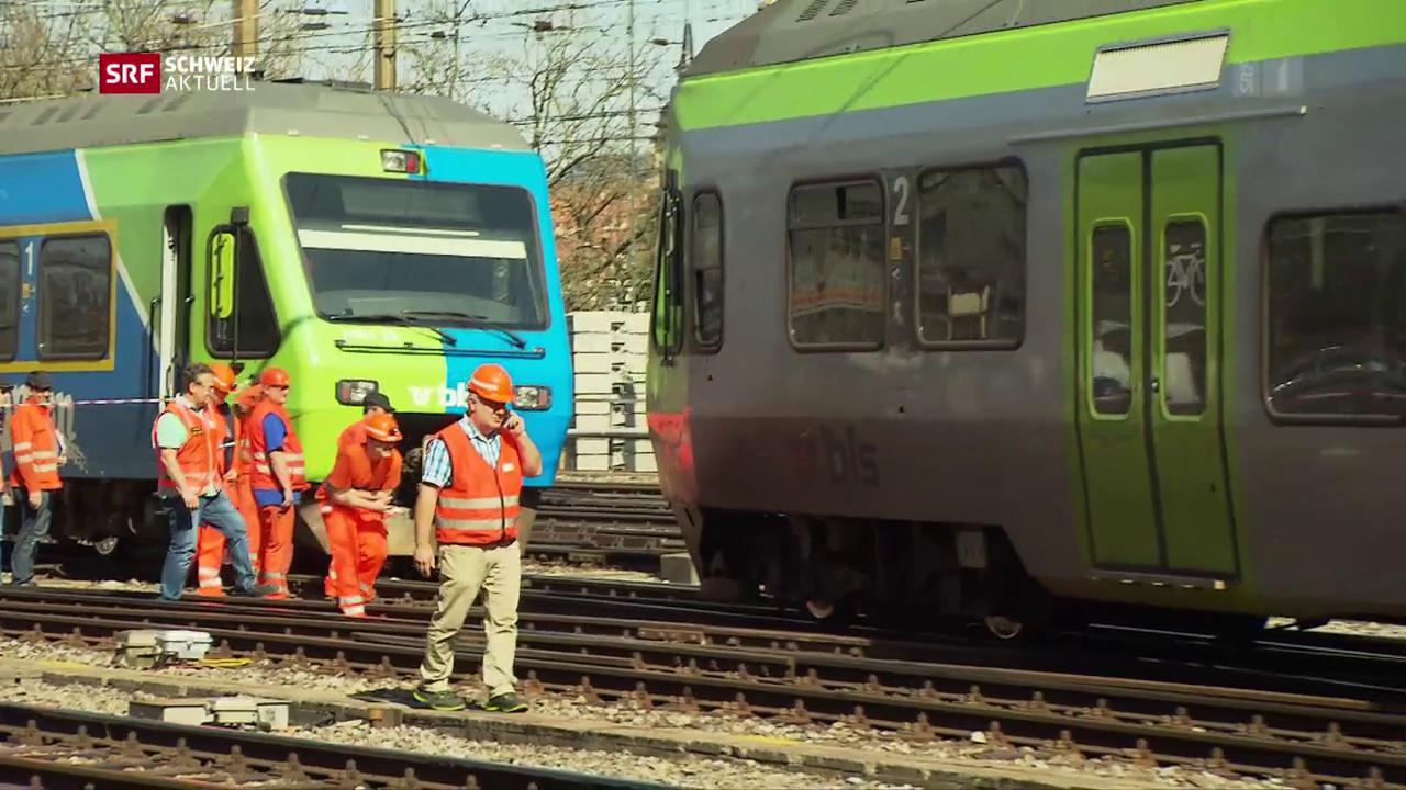 Zugentgleisung im Bahnhof Bern