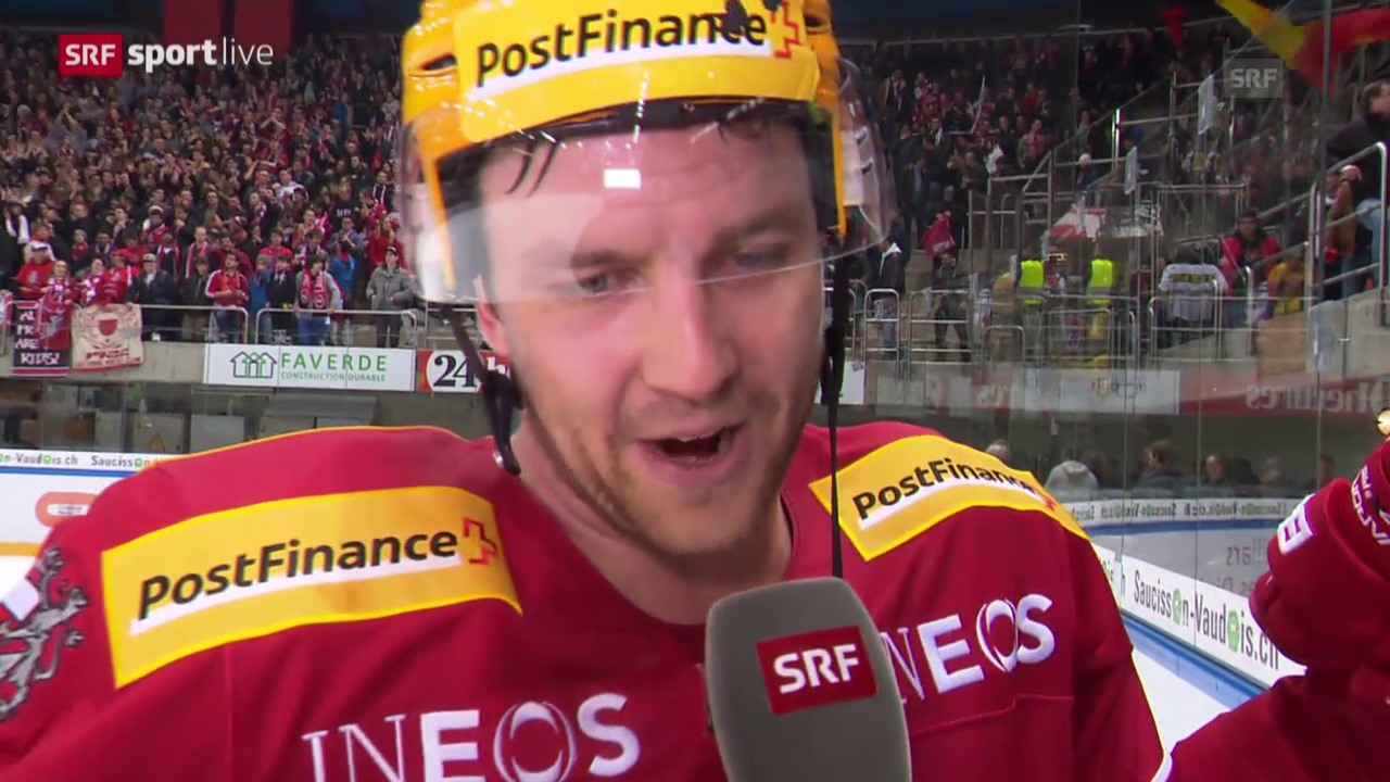 Eishockey: Ossi Louhivaara im Interview