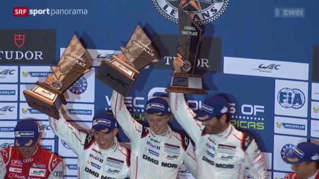 Video «Motorsport: Langstrecken-WM in Austin» abspielen