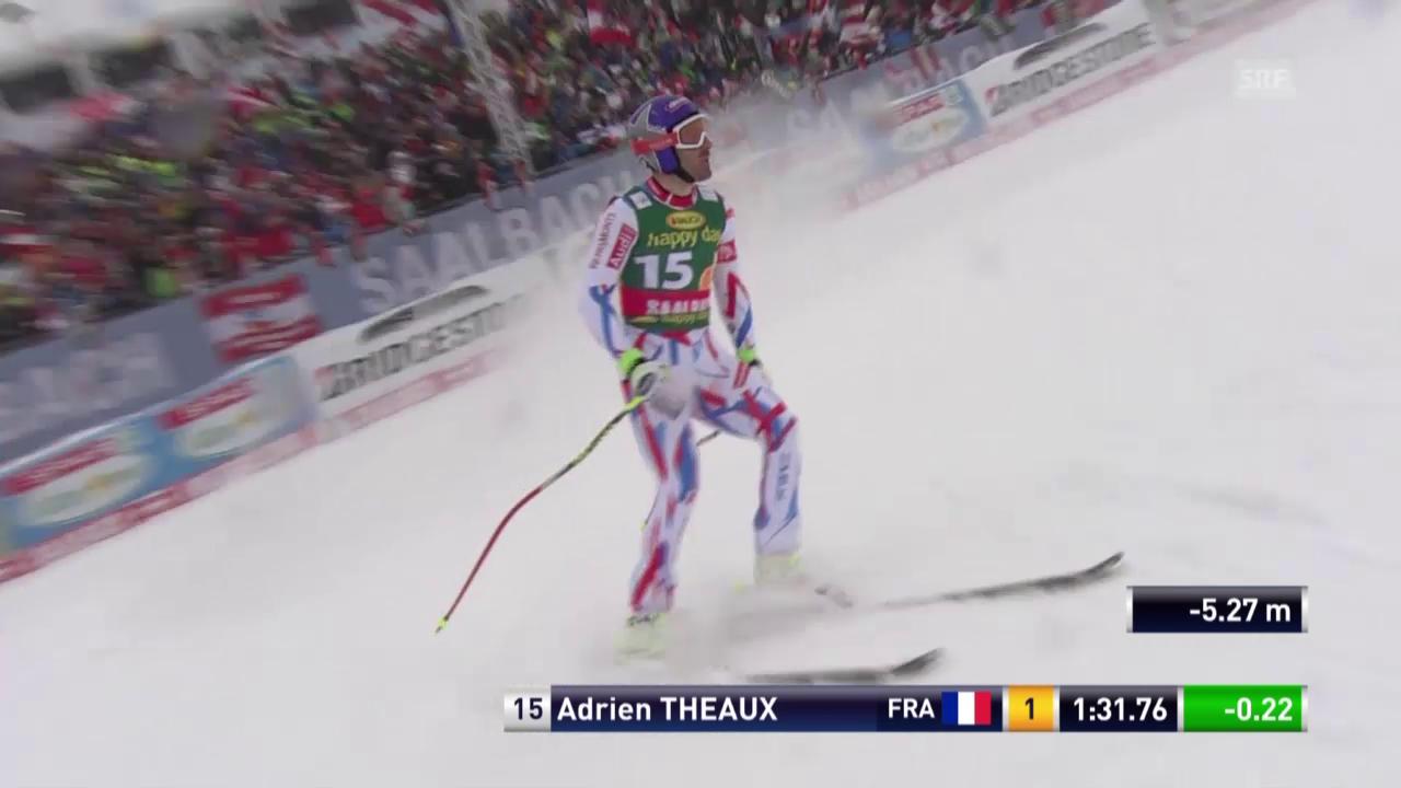 Ski Alpin Männer SuperG Saalbach, Fahrt von Theaux