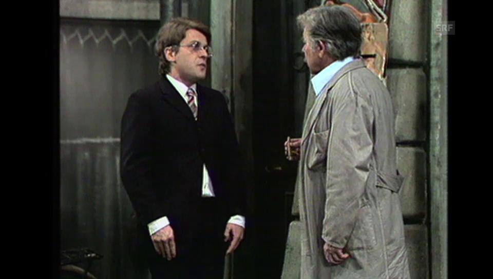 Walter Andreas Müller in «Die Kleine Niederdorfoper»