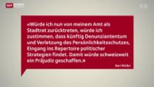 Video «Geri Müller bleibt Badener Stadtammann» abspielen
